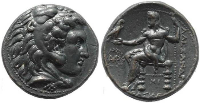 Ancient Coins - Seleucid Kings of Syria - Seleukos  I Nikator 312-281 BC AR Tetradrachm - Babylon Mint