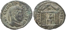 Ancient Coins - Roman coin of Maxentius - CONSERV VRB SVAE