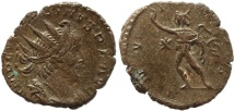 Ancient Coins - Roman coin of Victorinus antoninianus - INVICTVS - Cologne