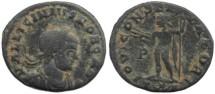 Ancient Coins - Licinius II - IOVI CONSERVATORI - Arelate 318AD