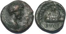 Ancient Coins - Marcus Aurelius, Caesarea, Cappadocia 175AD Syd 337,8