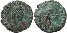 Ancient Coins - Ancient Roman coin of Valentinian II - REPARATIO REIPVB
