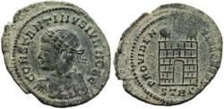 Ancient Coins - Constantius II as Caesar - PROVIDENTIAE CAESS - Treveri