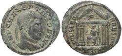 Ancient Coins - Roman coin of Maxentius - CONSERV VRB SVAE