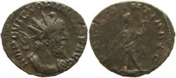 Ancient Coins - Roman Britain - Victorinus 268-270AD - PROVIDENTIA AVG