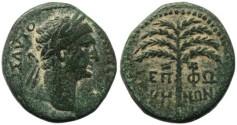 Ancient Coins - Roman coin of Trajan - Judaea, Sepphoris- beautiful desert patina