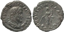 Ancient Coins - Roman coin of Maximinus I 235-238AD AR silver Denarius - PROVIDENTIA AVG