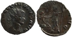 Ancient Coins - Claudius II silvered antoninianus - SALVS AVG