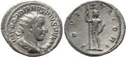 Ancient Coins - Gordian III 238-244AD silver antoninianus - IOVI STATORI