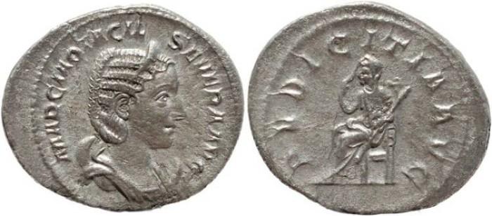 Ancient Coins - Roman coin of Otacilia Severa - PVDICITIA AVG