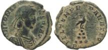 Ancient Coins - Ancient Roman coin of Constans - FEL TEMP REPARATIO