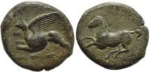 Ancient Coins - Kainon, Sicily, AE21, circa mid 4th Century BC.