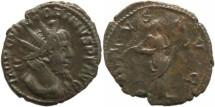 Ancient Coins - Roman Britain - Victorinus 268-270AD - Cologne Mint