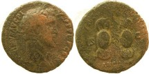 Ancient Coins - Antoninus Pius Æ AS - Shields