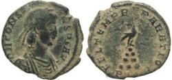 Ancient Coins - Ancient Roman coin of Constans - FEL TEMP REPARATIO