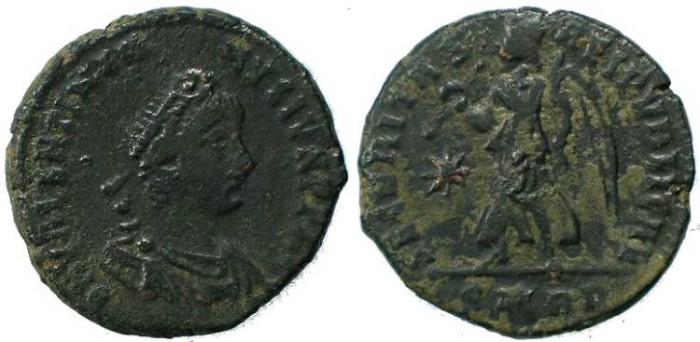 Ancient Coins - Valentinian II,  SECURITAS REIPVBLICAE - Rome Mint
