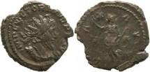Ancient Coins - Roman Britain - Victorinus 268-270AD - Cologne Mint - 4.2 grams