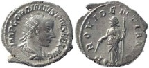 Ancient Coins - Gordian III 238-244AD silver antoninianus - PROVIDENTIA AVG