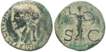 Ancient Coins - Roman coin of Claudius Ae As 26mm 8.92 grams