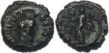 Ancient Coins - Roman Emperor Carus Potin Tetradrachm
