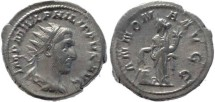 Ancient Coins - Philip I silver antoninianus - ANNONA AVGG