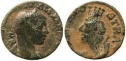 Ancient Coins - Severus Alexander - Bostra, Decapolis, Arabia - AE18