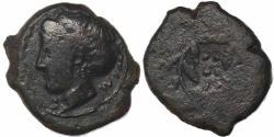 Ancient Coins - Sicily, Himera, circa 420-407 BC Æ Hemilitron