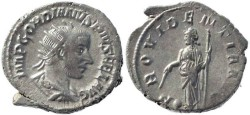 Ancient Coins - Gordian III 238-244AD silver antoninianus - PROVIDENTIA AVG