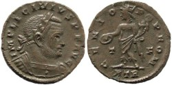 Ancient Coins - Licinius I - GENIO POP ROM - Treveri Mint