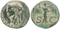 Ancient Coins - Roman coin of Claudius Ae As 26mm 8.92 grams