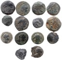 Ancient Coins - 14 Ancient Greek and Seleucid coins