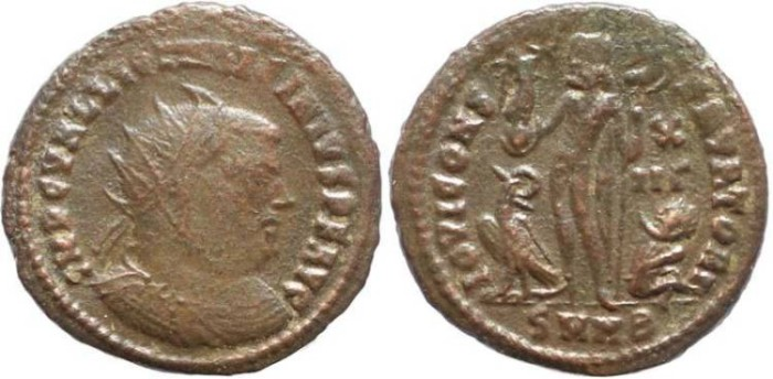 Ancient Coins - Licinius I - IOVI CONSERVATORI - Nicomedia Mint