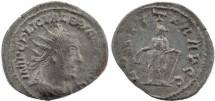 Ancient Coins - Valerian I silvered antoninianus - LAETITIA AVGG