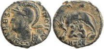 Ancient Coins - Urbs Roma Commemorative - Thessalonica Mint