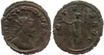 Ancient Coins - Claudius II AE Antoninianus - VIRTVS AVG