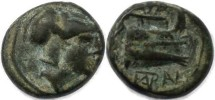 Ancient Coins - Ancient Macedonian coin of Demetrios Poliorketes, 306-283 BC
