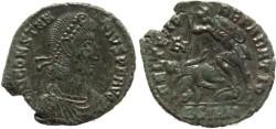 Ancient Coins - Roman coin of Constantius II - FEL TEMP REPARATIO -  Sirmium