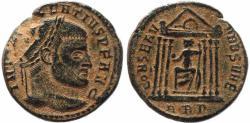 Ancient Coins - Roman coin of Maxentius AE large follis - CONSERV VRB SVAE - Rome
