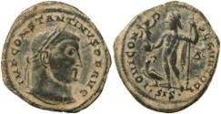 Ancient Coins - Constantine I AE Follis 315-316AD - IOVI CONSERVATORI