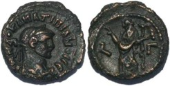 Ancient Coins - Ancient Roman coin of the Emperor Maximianus