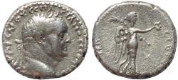 Ancient Coins - Roman Provincial coin of Vespasian AR didrachm of Caesarea, Cappadocia