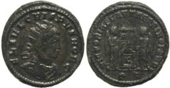 Ancient Coins - Ancient Roman coin of Crispus - VICTORIAE LAETAE PRINC PERP - Ticinum