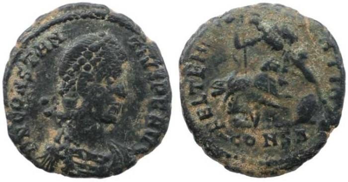 Ancient Coins - Roman Empire - Constantius II - FEL TEMP REPARATIO - Constantinople