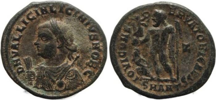 Ancient Coins - Roman coin of Licinius II - IOVI CONSERVATORI CAESS - Antioch