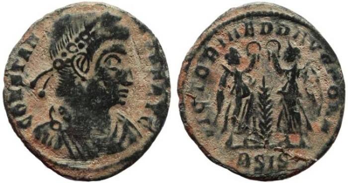 Ancient Coins - Constans - VICTORIAE DD AVGG Q NN - Siscia Mint