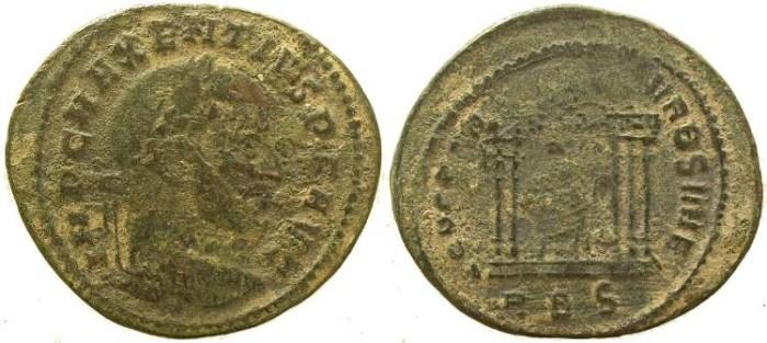 Ancient Coins - Maxentius follis - CONSERVATORES VRB SVAE - Rome Mint