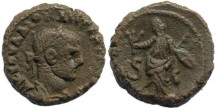 Ancient Coins - Roman Egypt - Diocletian and Eirene - Year 6