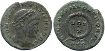 Ancient Coins - Constantine II - CAESARVM NOSTRORVM, VOT X - Treveri Mint