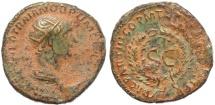 Ancient Coins - Roman coin of Trajan Ae As