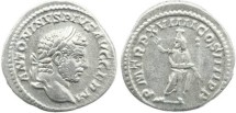 Ancient Coins - Roman Empire - Caracalla 211–217AD AR denarius.